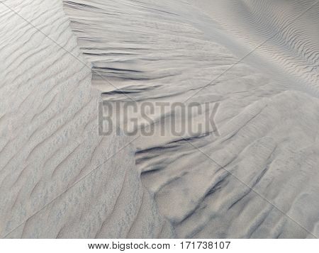 Sand formation - natural neutral grey background