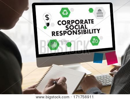 Corporate Social Responsibility  Ecology Solution Fresh Lush Natural Nature
