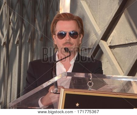 LOS ANGELES - FEB 14:  David Spade at the George Segal Star Ceremony at the Hollywood Walk of Fame on February 14, 2017 in Los Angeles, CA