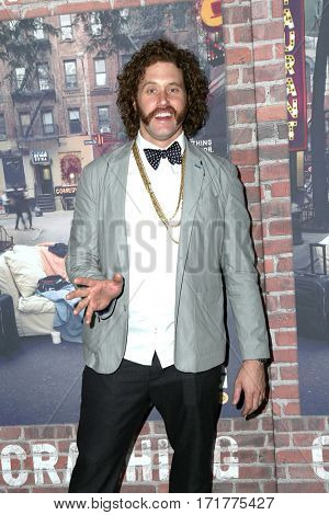 LOS ANGELES - FEB 15:  T. J. Miller at the