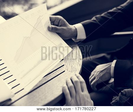 Business Trading Summary Report Analysis Chart