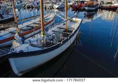 MARINA IN KOLOBRZEG - Boats and yachts moored in the marina