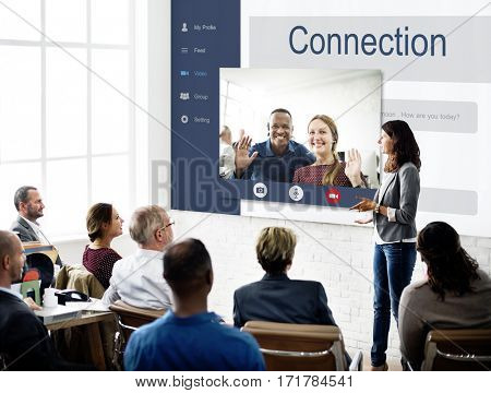Networking Communication Conversation People Concept