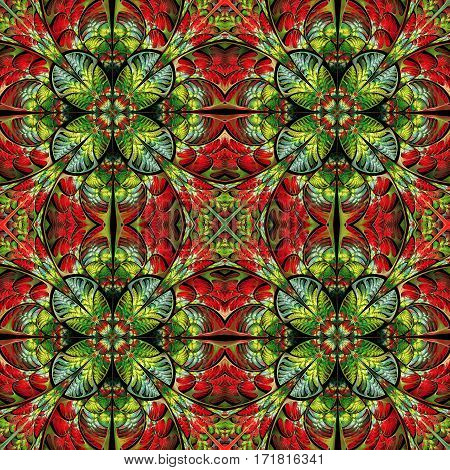 Multicolored pattern of the leaves. Collection - tree foliage. You can use it for invitations notebook covers phone cases postcards cards and so on.
