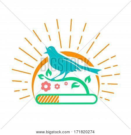 Illustration Downloads  Singing Bird
