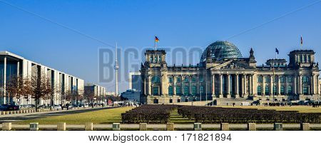 Berlin Reichstag Panorama