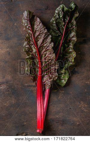 Chard Mangold Salad Leaves