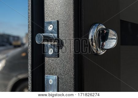 Metal Apartment Entrance Door Burglar Made By Special Technology.
