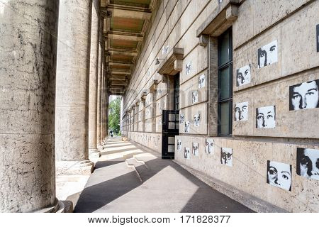 Munich, Germany - August 6, 2016: The Haus der Kunst (literally House of Art) is a non-collecting art museum in Munich