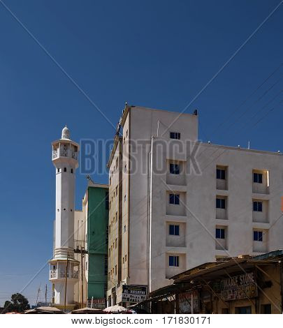 Mosque in Hargeisa biggest city of Somaliland Somalia