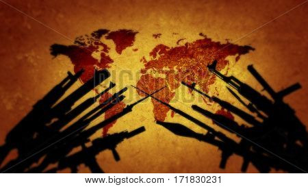 The world is on the brink of war. V jopu