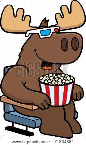 Cartoon Moose 3D Movies