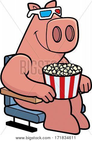 Cartoon Pig 3D Movies