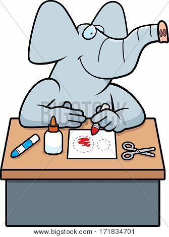 Cartoon Elephant Crafts