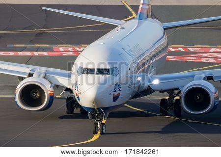 Eurowings Sunexpress Boeing 737 Airplane