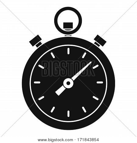 Chronometer icon. Simple illustration of chronometer vector icon for web