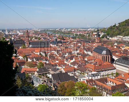 City View From The Königstuhl