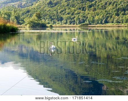 Lake Piano In The Val Menaggio