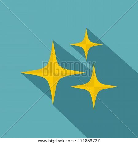 Stars icon. Flat illustration of stars vector icon for web