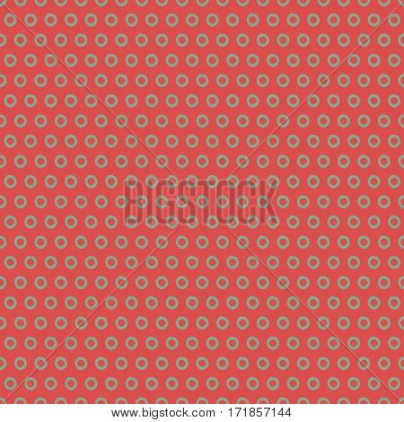 Abstract retro pattern with trendy polka dots. Cute vector whimsical retro pattern. Seamless stylish retro pattern for fabric, wallpapers, wrapping paper, cards and web backgrounds.