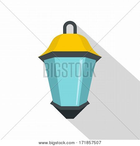 Street light icon. Flat illustration of street light vector icon for web