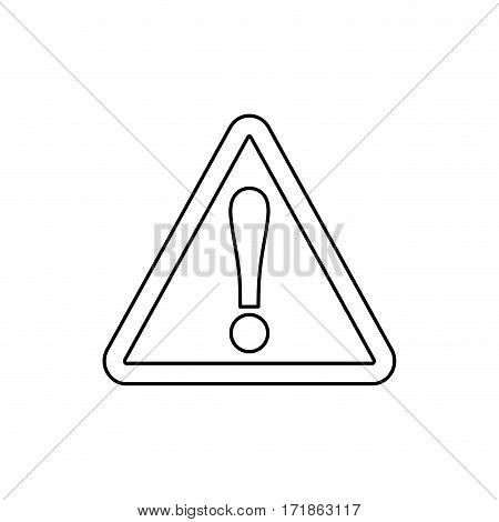 Attention waning message modem icon vestor ilustration