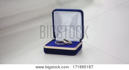 white gold wedding bands wedding rings from white gold in the blue box wedding jewelry wedding preparation