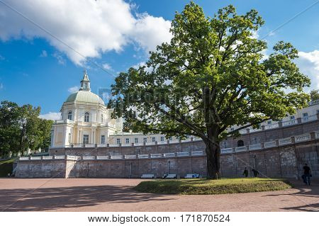 The Grand Menshikov Palace in Oranienbaum Saint-Petersburg Russia