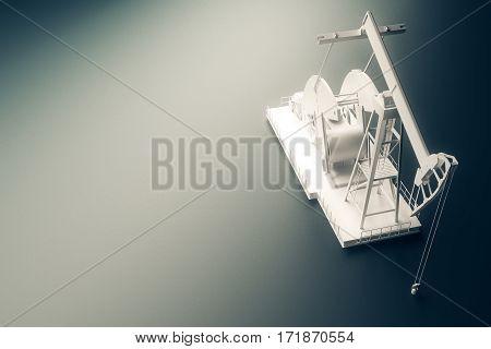 White Oil Pump Top