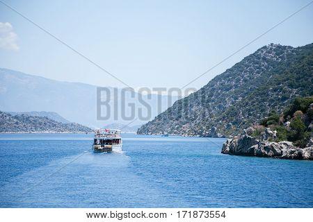Bay Of Uchagiz View From Sea