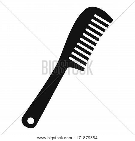 Comb icon. Simple illustration of comb vector icon for web