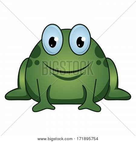 frog, vector, clipart, pond animal, amphibian, cartoon, drawing