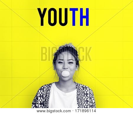 Hipster Freedom Youth Teenager Graphic Word