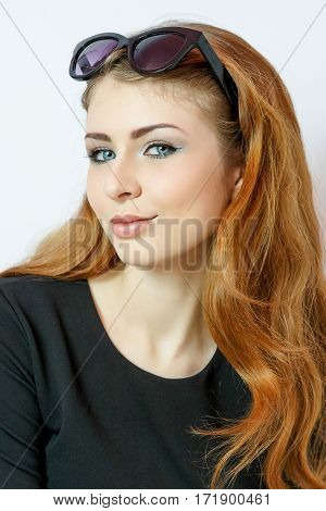 Beauty Young Woman Portrait