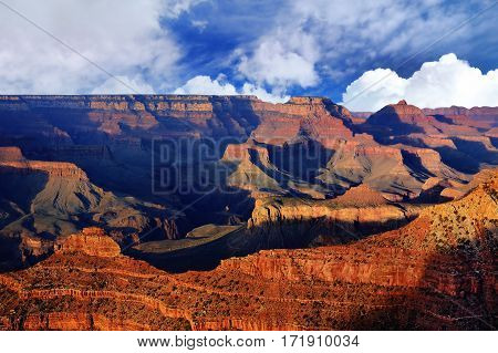 Amazing Sunrise Image Of The Grand Canyon