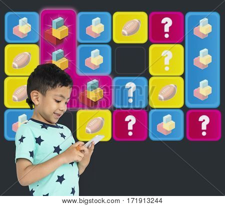 Blocks Toy Bricks Rugby Secret Question Matching
