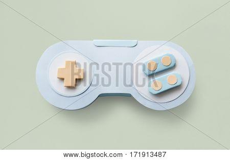 Game Controller Analog Videogame Entertainment