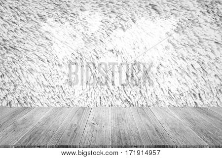 Carpet Texture Surface With Wood Terrace And World Map
