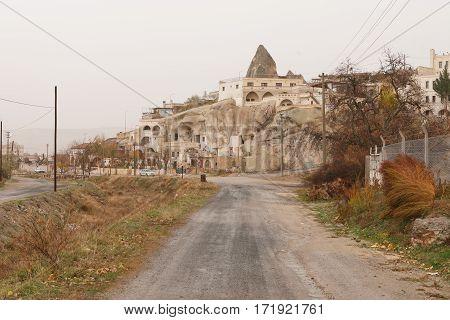 View of Pidgeon Valley of Cappadocia Turkey