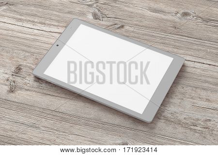 Tablet Pc With 4:3 Aspect Ratio And Blank Screen