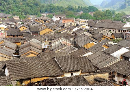 historic interest in china guangxi huangyao