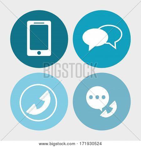 call center service communication vector illustration eps 10
