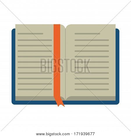 open book school learning library vector illustration eps 10