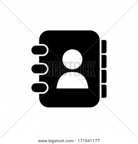 Adress book symbol icon vector illustration graphic design