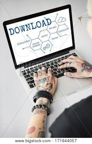Cloud Backup Download Network