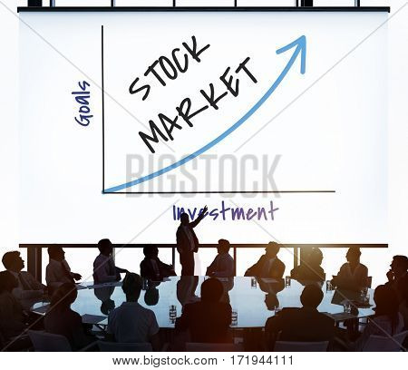 Business Team Stock Market Concept