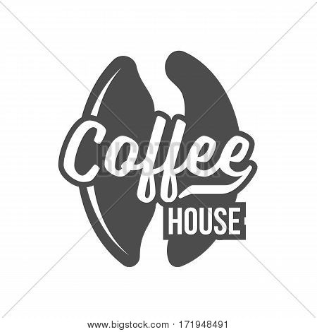 Coffee shop logo, badge, label and design elements vintage vector illustration. Hipster and retro style.