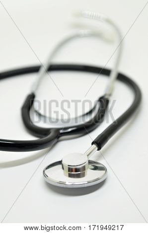 Medical Stethoscope Isolated