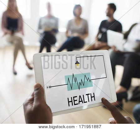 Health Medication Lifestyle Heartbeat Icon