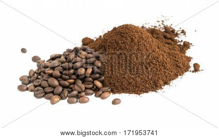 Medium Roast Fine Grinding Coffee And Whole Grains